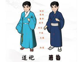 【汉服形制】汉服辨识:汉服和和服的区别是什么?