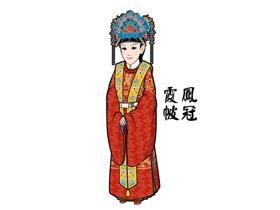 【汉服形制】当代汉服复兴运动基本款:凤冠霞帔与深衣