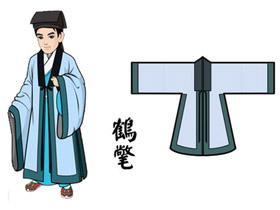 【汉服形制】当代汉服复兴运动基本款:鹤氅与披风